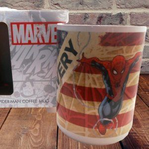 Marvel Spiderman Coffee Cup BRAVERY in box New